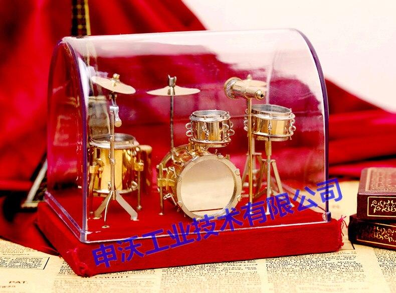 Mini instrumentos musicais conjunto de tambor modelo