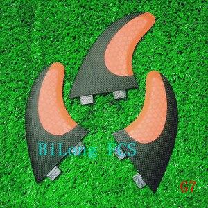 Image 3 - Ensemble de dérives de planche de surf 3 pièces, pour FCS box G7, en fibre de verre nid dabeille de carbone taille L FCS, offre spéciale