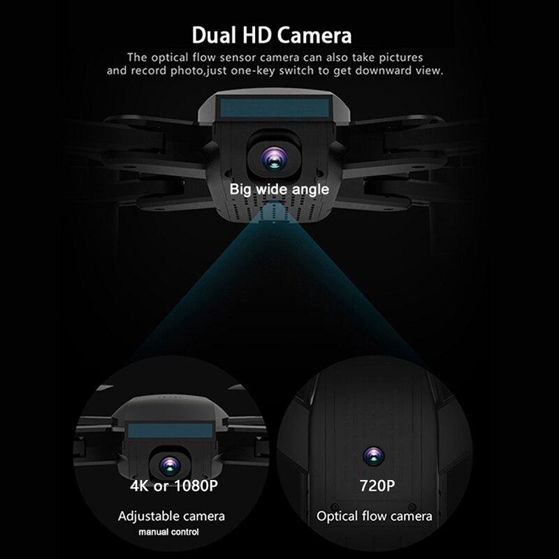 SG700D Дрон 4K 1080P WIFI FPV двойная камера дроны Профессиональный широкоугольный 50X зум оптический следование RC Квадрокоптер Дрон VS E58 E68