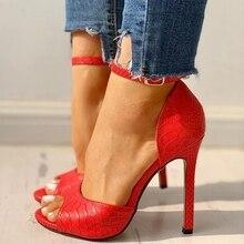 2020 Summer Fashion Woman Shoes Sandals High Heels Thin Heels Peep Toe Party Wedding Pumps Zapatos De Mujer Sandalias  LP634 2020 summer fashion woman shoes sandals high heels thin heels peep toe party wedding pumps zapatos de mujer sandalias lp640