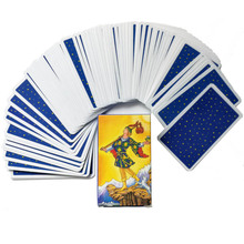 Spanish English version Rider Wait Tarot deck divination fate playing cards board game Spanish divination
