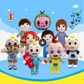 Игрушка JJ Cocomelon, музыкальная мягкая плюшевая кукла для детей, Музыкальная кукла Барби, семейные детские игрушки, подарок на день рождения, ан...
