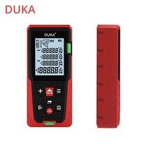 ATuMan DUKA LS3 אינטליגנטי דיגיטלי לייזר מד טווח 60/80M דיגיטלי שליט ציד נטענת מרחק מד טווח Finder Meas