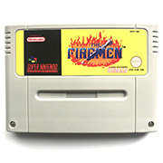 The Firemen 16bit  game cartidge for pal console