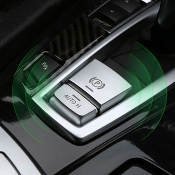 Parking Brake Switch P Button Cover ABS Chrome For BMW F10 F07 F01 X3 F25 X4 F26 F11 F06 X5 F15 X6 F16 Accessories image