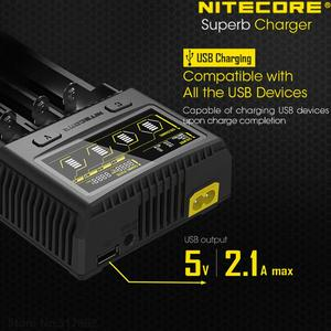 Image 4 - NITECORE SC4 Intelligent Faster Charging Superb Charger with 4 Slots 6A Total Output Compatible IMR 18650 14450 16340 AA Battery
