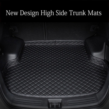 Custom fit car trunk mats for Renault Scenic Fluence Latitud Koleos Laguna Megane cc Talisman 6D car styling carpet floor liner