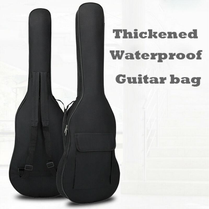 SHUJIN New Padded Waterproof Electric Guitar Bass Bags Carrying Case Bag Backpack AU 2020