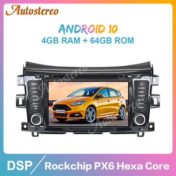 Android 10.0 4GB+64GB Car Radio GPS Navigation for NISSAN NP300 Navara Terra Auto Stereo Multimedia Player Radio Tape Recorder image