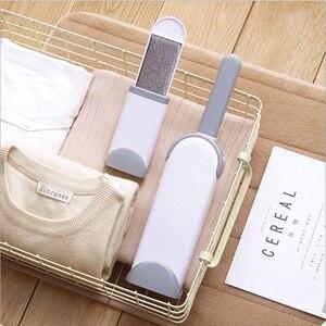 Многоразовая одежда для удаления ворса, липкая роликовая щетка для домашних животных, щетка для удаления волос, электростатическое устройство для очистки пыли