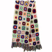 2019 Hand made scarfs Women Tassel Scarf Wraps 200*27cm Big