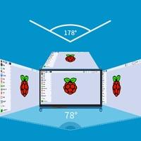 7 Inch for Raspberry Pi 3 Model B+ LCD Display Press Screen LCD 1024x600 HDMI TFT Monitor + Holder Case for Raspberry Pi 3