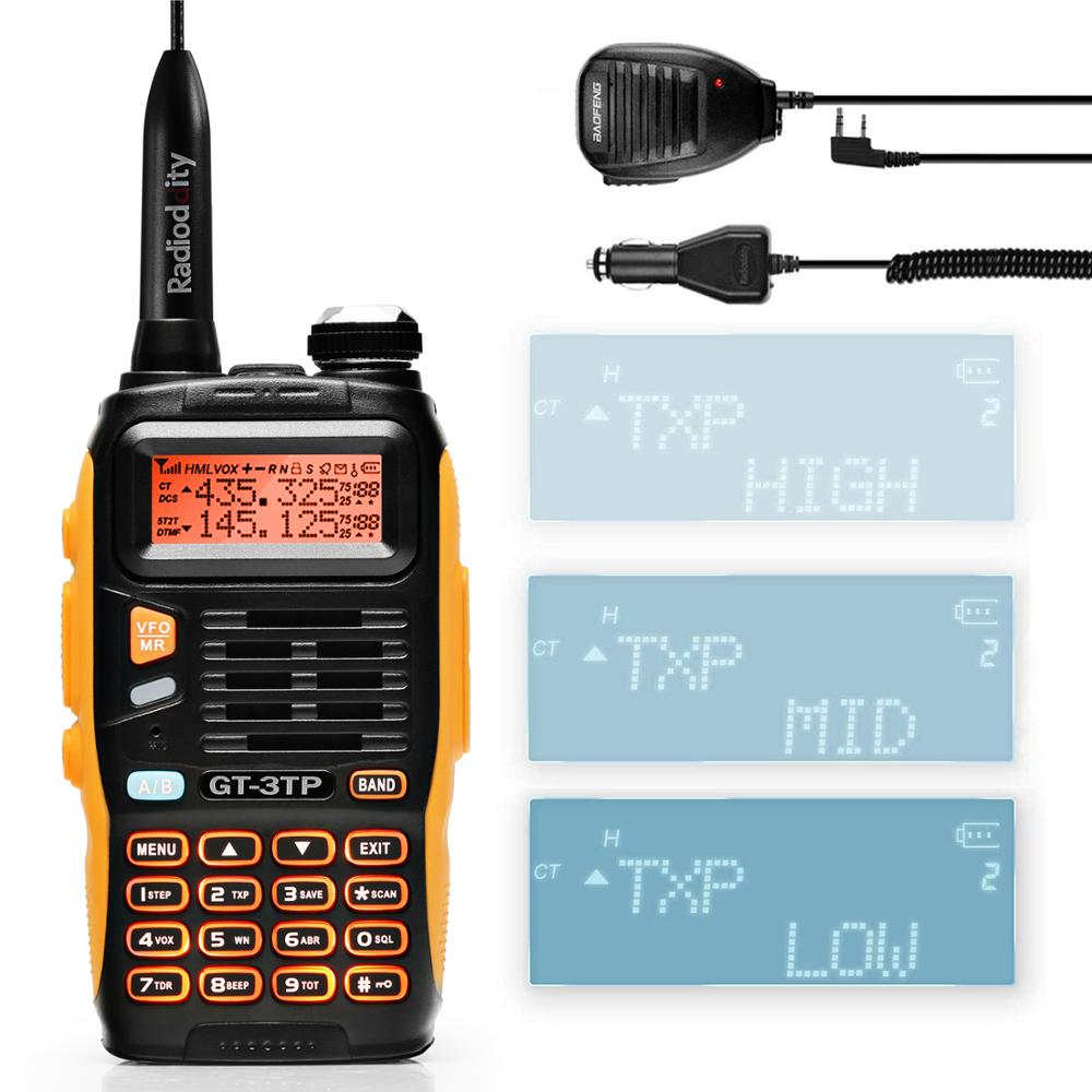 Baofeng Microphone-Speaker Radio Walkie-Talkie Two-Way High-Power Markiii with 136-174/400-520mhz-Ham