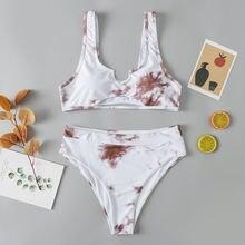 Roseheart белый сексуальный комплект бикини женский купальный