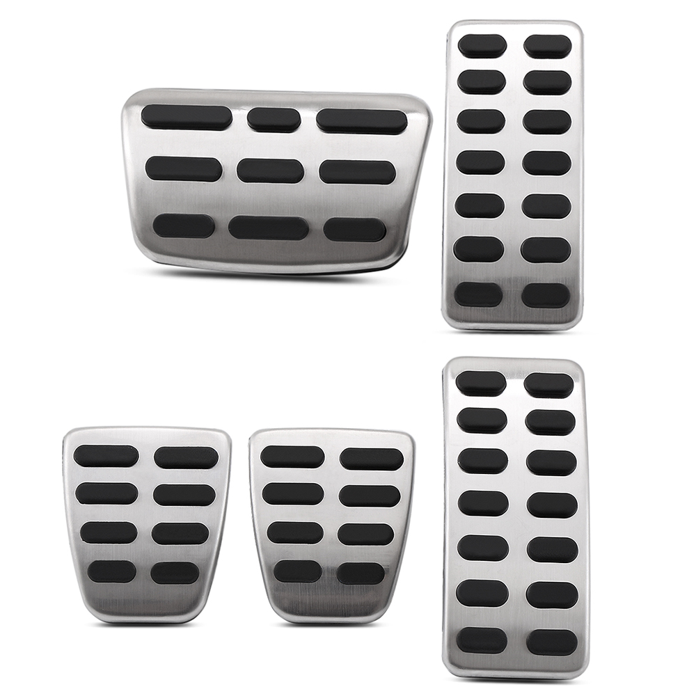 9 MOON Gas Brake Foot Rest Pedal AT Stainless steel