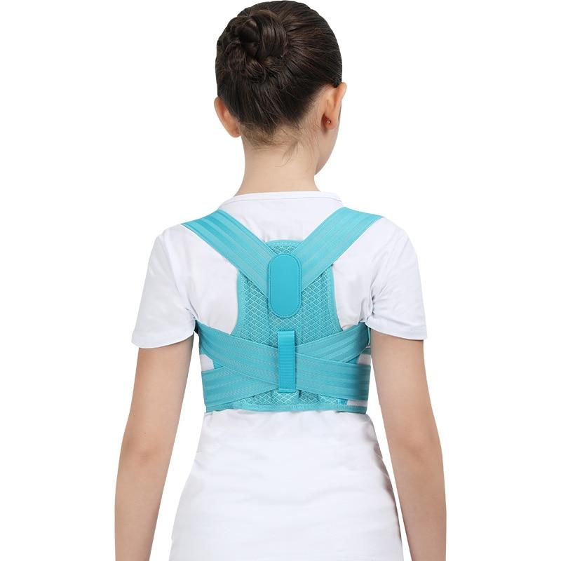 Adjustable Children Posture Corrector Belt with Detachable Shoulder Pad to Develop Good Walking and Sitting Posture 14