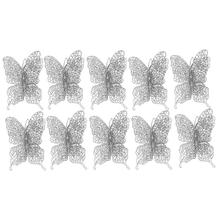 Ornaments-Tree Decoration Butterfly Household New-Year 10PCS