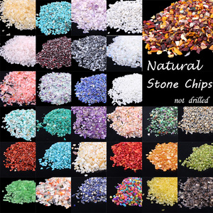 Natural Stone Beads 3-5MM 20 50 100G Mixed Colorful Gem Bead irregular Energy Stone For Fish Tank Bonsai Decoration Beadwork DIY