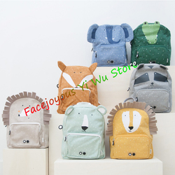 2020 New Trixie Kid Animal Zoo School Bag Lovely Cute Toddler Children Boys Girls Design Trends Backpack Baby All Accessories