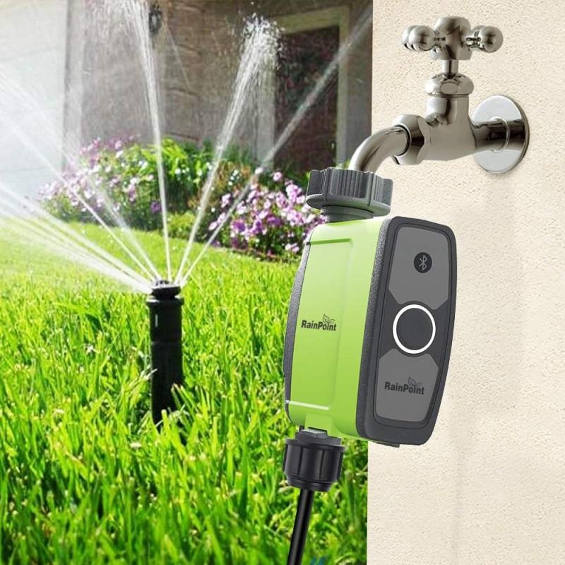 Bluetooth Garden Water Timer Irrigation Bluetooth Connect Waterproof Irrigation Soil Moisture Sensor Timer Garden Controller