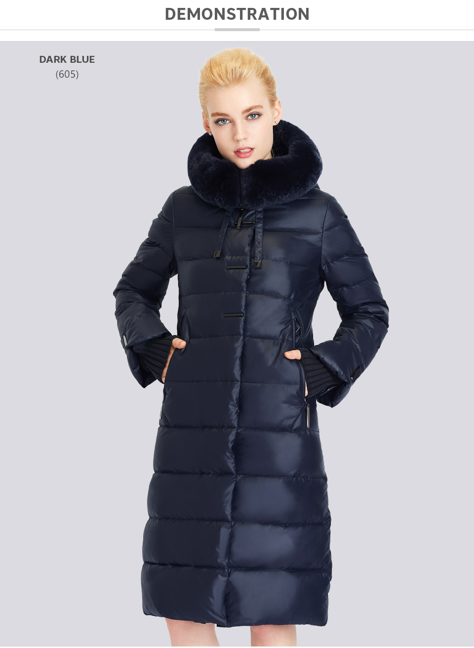 Medium Length Winter Jacket