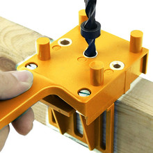 Drill-Bit Hole-Puncher Jig-System Dowel-Joints Carpentry Pocket-Hole Quick-Wood Abs-Plastic