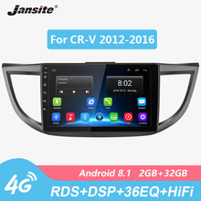 цена на Jansite 10 Car Radio player For Honda CR-V 2012-2016 Android GPS Wifi 2G+32G Touch screen multimedia video players with CANBUS