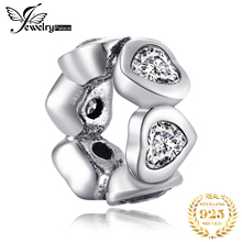 JewelryPalace 925 Sterling Silver Intimate Love Spacer Beautiful Gifts For Women Anniversary Fashion Jewelry New Arrival