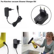 Para karcher wv50 wv55 wv60 wv70 wv75 & wv2 wv5 janela vac plug carregador de bateria da ue sobretemperatura, proteção contra curto-circuito