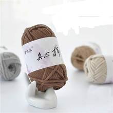 50g/bag Cotton wool Fill the core line baby merino yarn Crochet cotton Hand-knitted bag hat scarf jewelry