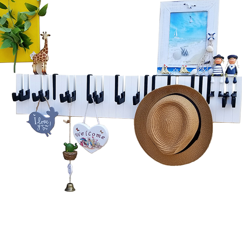 Entrance Piano Hook Wall Hanging Decorations Hanger Personality Key Hook Creative Hook Coat Rack