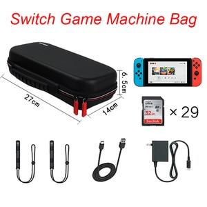 Image 2 - Housses pour à fermeture éclair à coque rigide Portable interrupteur EVA sacs de rangement de transport de protection pour Console NS accessoires cartes de jeu