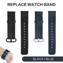 Pohiks Men Sport Cow Leather Strap Replacement Watch Band for Huami Amazfit GTS Smart Accessories