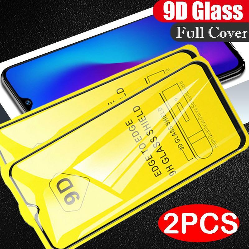 2PCS 9D Tempered Glass For Xiaomi Mi 9 9SE A3 lite 9T Redmi K20 8A 9A 9C note8 Pro Note 9S 8 7 Pro 9Pro 8T Screen Protector Film(China)