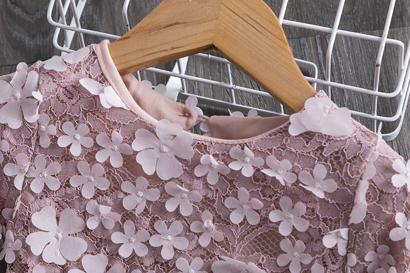 H6e6ed95cc41c44e89cb851cc328d2b9fS Girls Clothing Sets 2019 Summer Princess Girl Bling Star Flamingo Top + Bling Star Dress 2pcs Set Children Clothing Dresses