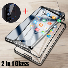 Full Cover Glass For Xiaomi Redmi 6 Pro Screen Protector Tempered Camera Lens Film Back