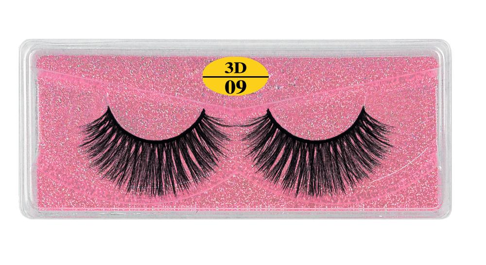 H6e6ef0a115af4af4a00e576dd9582a48O - MB Eyelashes Wholesale 40/50/100/200pcs 6D Mink Lashes Natural False Eyelashes Long Set faux cils Bulk Makeup wholesale lashes