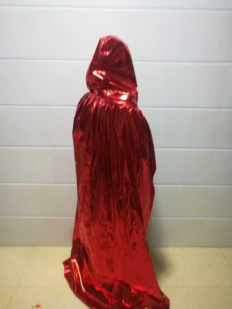 Средневековая ведьма вампир wicca плащи и накидки с капюшоном черный плащ костюмы на Хэллоуин для мужчин взрослых женщин взрослых вечерние детская для детей