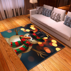 Dywan do salonu 3D wzór świąteczny dzieci dywan do sypialni domowy korytarz dekoracji podłogi lampki nocne maty dywan do pokoju dziecięcego