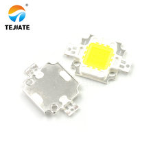 1PCS LED Lamp Post Bright 10W High Power Emitting Diode White Integrated Light Source Double Gold Thread Electronic DIY Kit