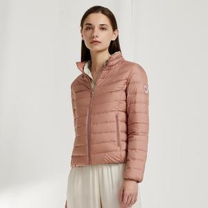 Image 5 - BOSIDENG erken kış yeni uzun kaban kadın aşağı ceket ultra hafif yüksek kaliteli su geçirmez yumuşak deri kumaş B90131010A