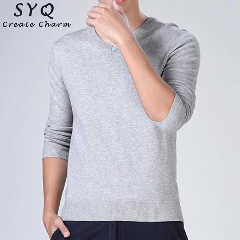 New Men Knitting Sweater V-neck Striped Slim Fit Knit Cotton Sweater Men Long Sleeve Pullovers Casual Winter Keep Warm Sweaters