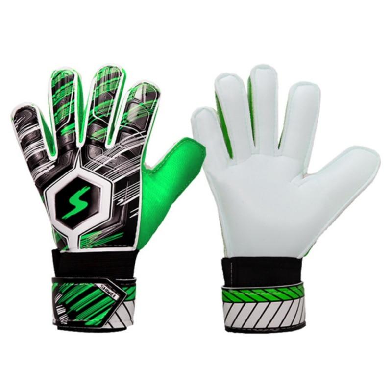 Детские латексные перчатки для футбольного вратаря, профессиональные защитные перчатки для футбольного вратаря, тренировочные безопасные...