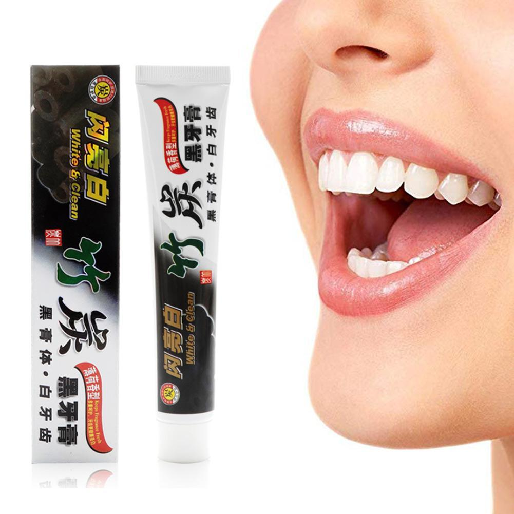 New Bamboo Charcoal Toothpaste Dental Care Teeth Whitening The Black Charcoal Teeth Oral Hygiene Natural Bamboo Toothpaste