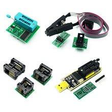 CH341A 24 25 serii EEPROM Flash BIOS programator USB moduł + SOIC8 SOP8 klip testowy na EEPROM 93CXX / 25CXX / 24CXX