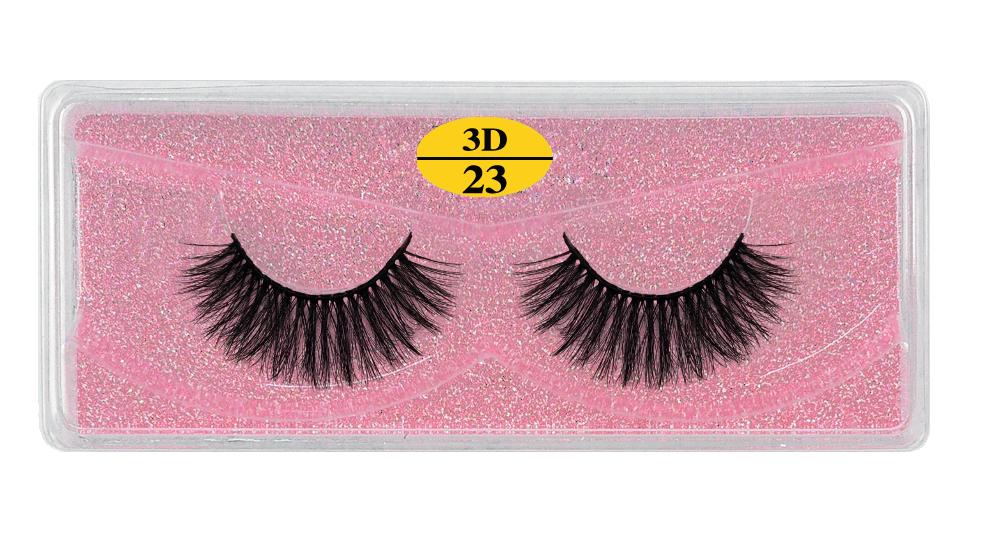 H6e701b830f2f4734ba7d2cb7682d3277B - MB Eyelashes Wholesale 40/50/100/200pcs 6D Mink Lashes Natural False Eyelashes Long Set faux cils Bulk Makeup wholesale lashes