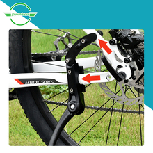 Adjust The Size Bicycle Bike Foot Support 48-52cm Support The Side Frame MTB Mountain Bike 24-29 Tire Bicycle Bike Support