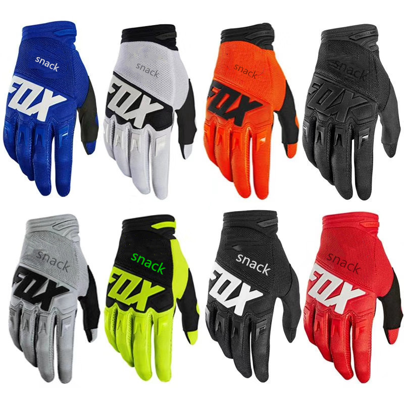 2020 Snack  Fox Gloves New Spot DIRTPAW Off-road Motorcycle Riding Gloves All Seasons Anti-fall