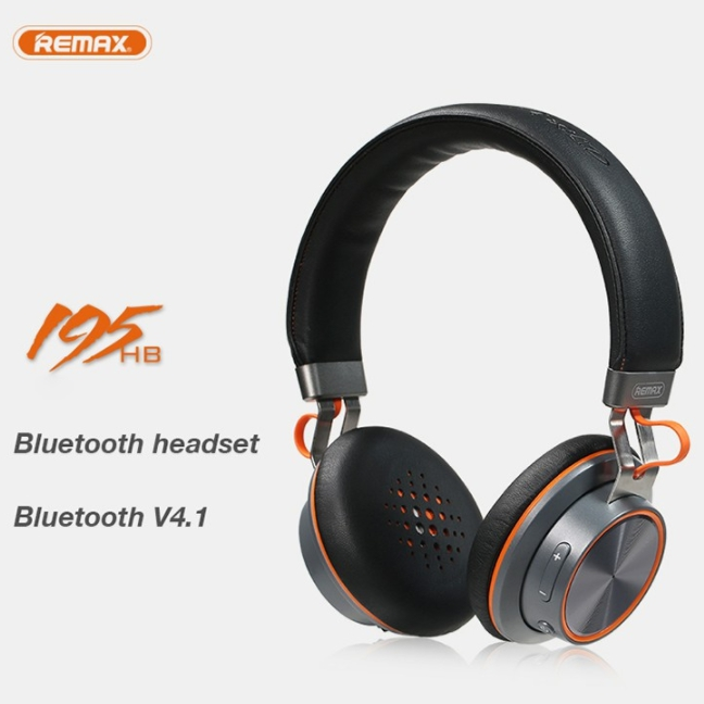 <font><b>Remax</b></font> Rb-195Hb Drahtlose Bluetooth Stereo Headset Bluetooth Headset Stereo Kopfhörer Noise Reduction Stereo Kopfhörer image