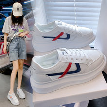 Ins fashionable and breathable little white shoes women's net top board shoes women's thick soled net shoes women's shoes
